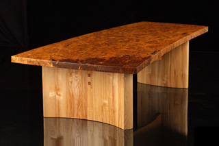 Burr Oak Table